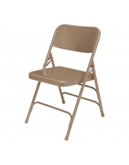Rhino™ Metal Folding Chair, Beige