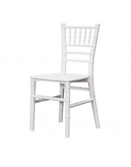 Children's Chiavari Resin Chair, White