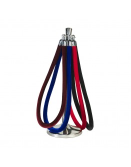 6 Foot Stanchion Rope, Black