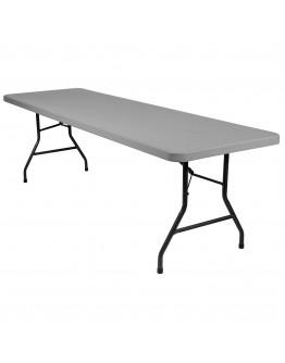 8 Foot Banquet Plastic Blow Mold Folding Table