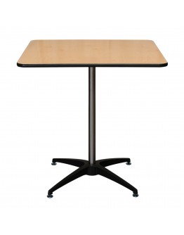 30 Inch Square Wood Cocktail Table Kit, Vinyl Edging