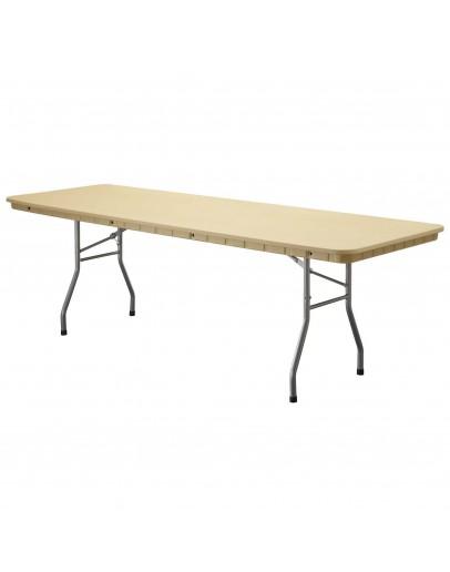 8 Foot Rhino™ Banquet Resin Folding Table, Tan