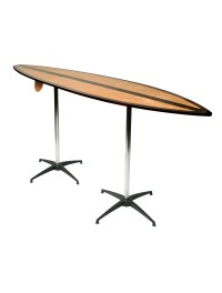 Surf Board Bar Table