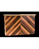 6 Foot Alpine Portable Bar, Wood