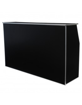 6 Foot Portable Bar, Black
