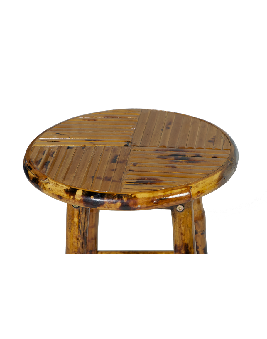 made ideas dark upholstered stools attractive stool coated white furniture decor bamboo with brown wicker bar back