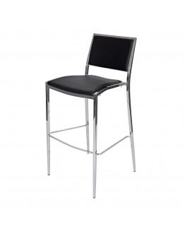 Bella Bar Chair, Black