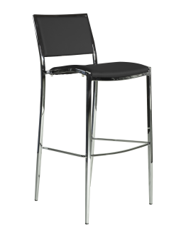 Bella Bar Chair, Black