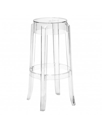 Phantom Bar Stool, Clear