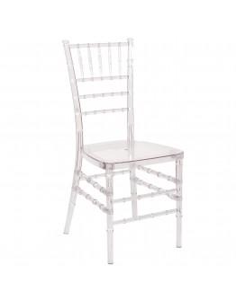 Chiavari Resin Chair, Clear