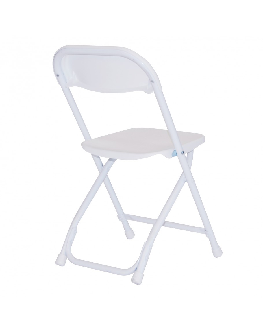 Rhino Children S Plastic Folding Chair White