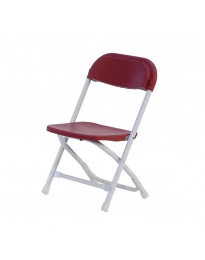 Rhino™ Children's Plastic Folding Chair, Red