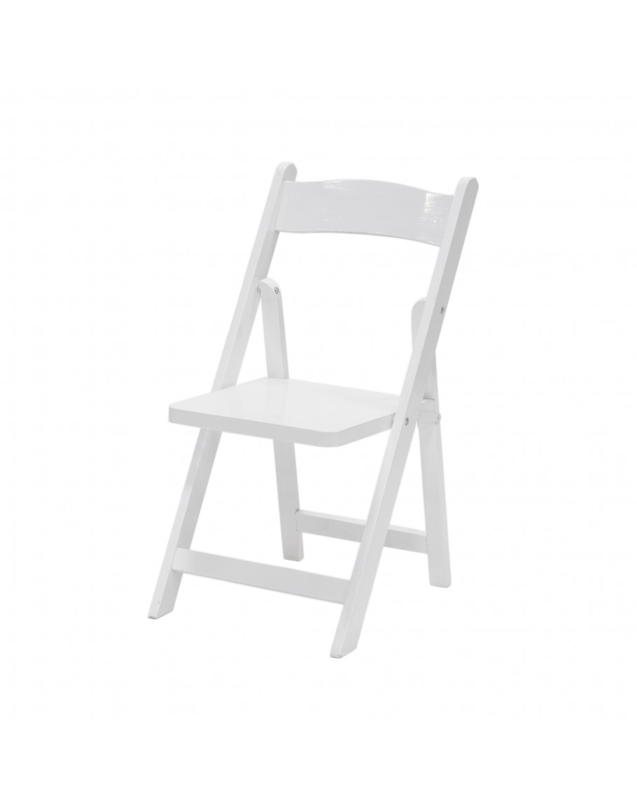 children 39 s wood folding chair white for sale. Black Bedroom Furniture Sets. Home Design Ideas
