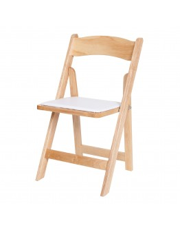 Wood Folding Chair, Natural