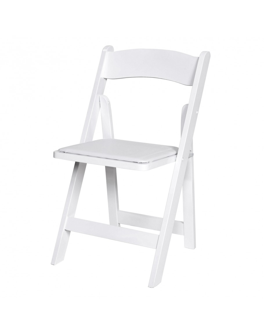 wood folding chair white. Black Bedroom Furniture Sets. Home Design Ideas