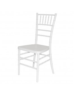 Chiavari Resin Chair, White