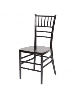 Chiavari Resin Chair, Black