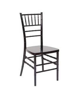 Chiavari Resin Chair, Black