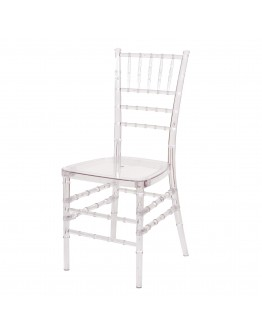 Chiavari Resin Chair, Clear