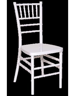 Chiavari Resin Chair, White