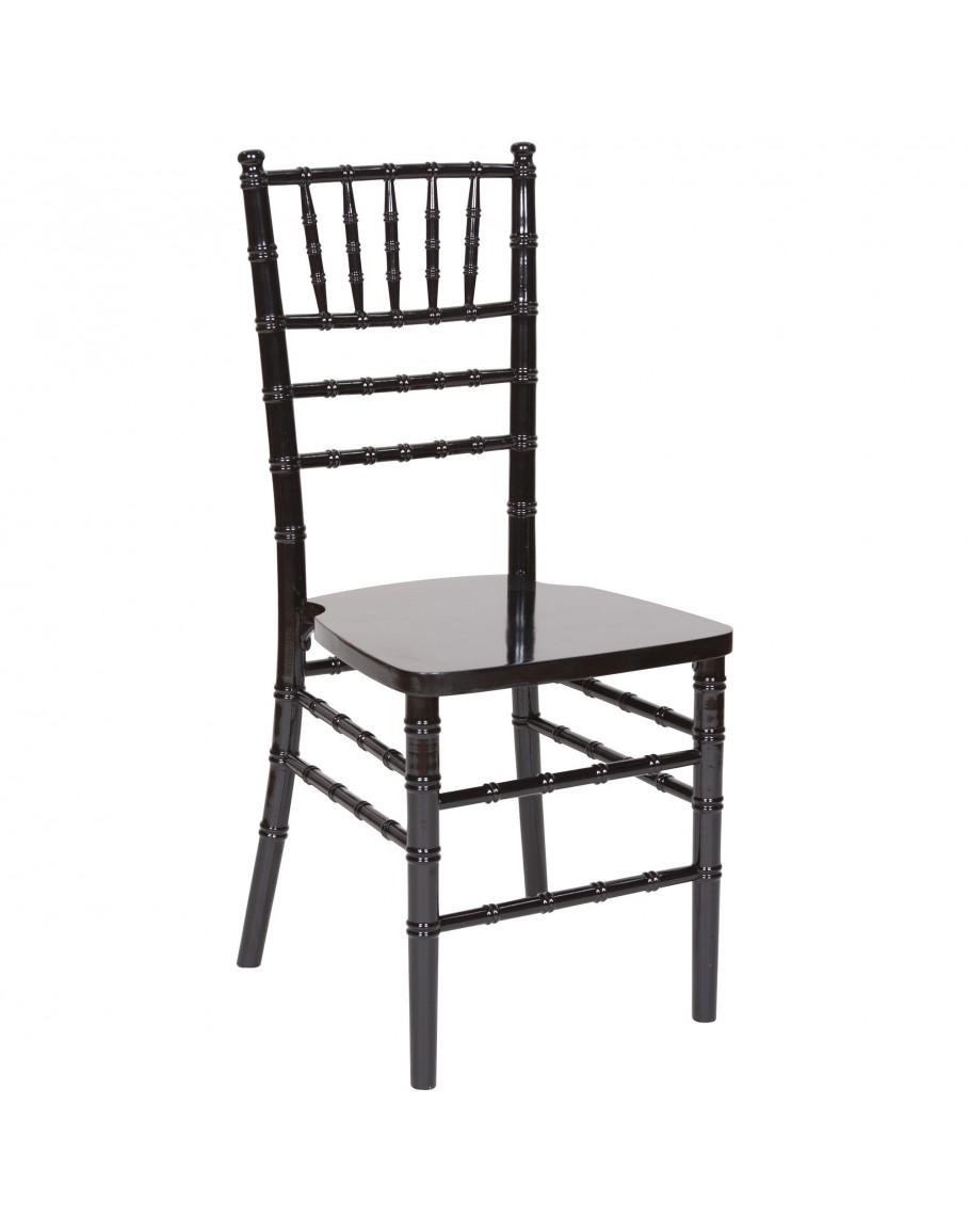 chiavari wood chair black black cushion for sale. Black Bedroom Furniture Sets. Home Design Ideas