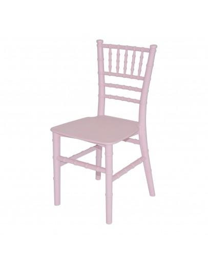 Children's Chiavari Resin Chair, Pink