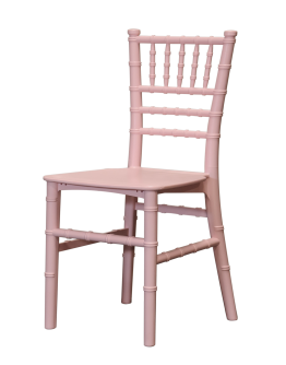 Children's Chiavari Resin Chair, Pink