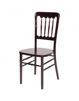 Versailles Banquet Wood Chair, All Colors, Cushion