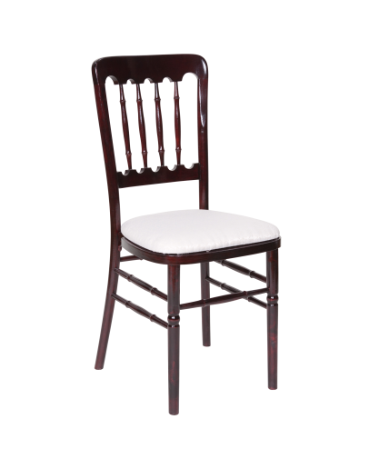 versailles banquet wood chair all colors cushion for sale. Black Bedroom Furniture Sets. Home Design Ideas