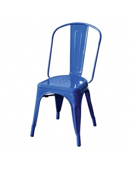 engrom Metal Chair, Blue