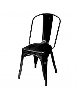 engrom Metal Chair, Black