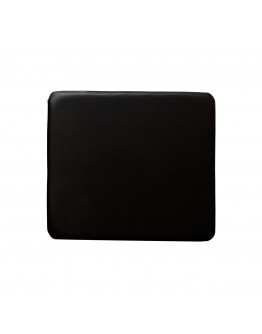 Resin Folding Chair Replacement Seat Pad, Black