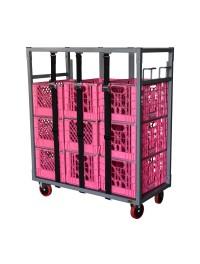 Glassware & Dishware Rack Dolly Cart