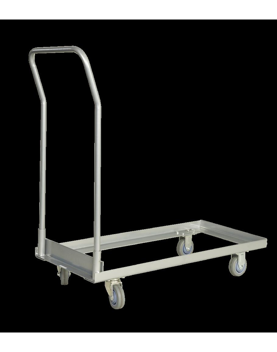 Tubular Handle Folding Chair Dolly Cart