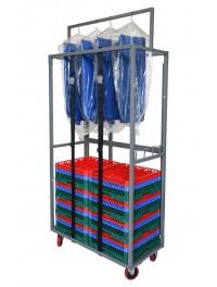 Glassware Rack / Dishware Rack Dolly Carts