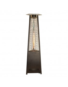 Rhino Series Pyramid Patio Heater - Bronze