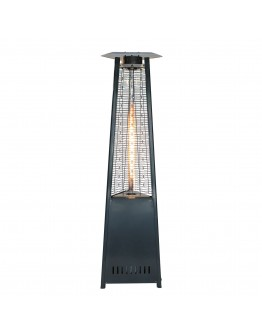 Rhino Series Pyramid Patio Heater - Charcoal Gray