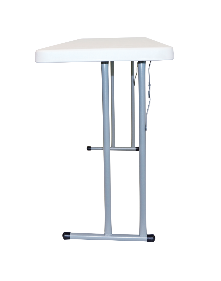 8 Foot Conference Plastic Blow Mold Folding Table For Sale