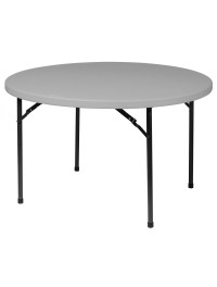 Round Plastic Blow Mold Folding Tables