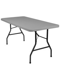 Banquet Plastic Blow Mold Folding Tables