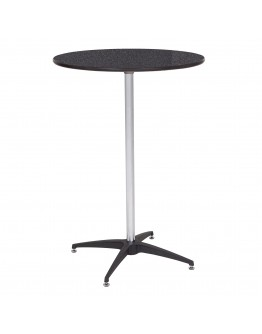 30 Inch Round Laminate Wood Cocktail Table Kit, Marble