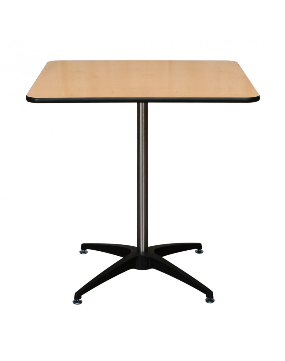 30 inch square wood cocktail table kit vinyl edging for Cocktail tables parts