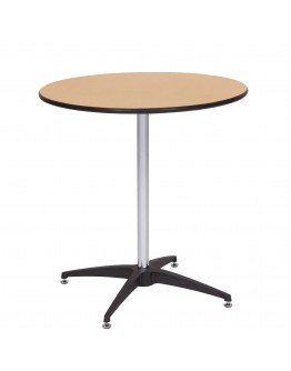 30 Inch Round Wood Cocktail Table Kit, Vinyl Edging