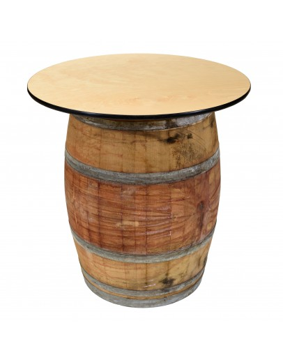 36 Inch Wine Barrel Cocktail Table